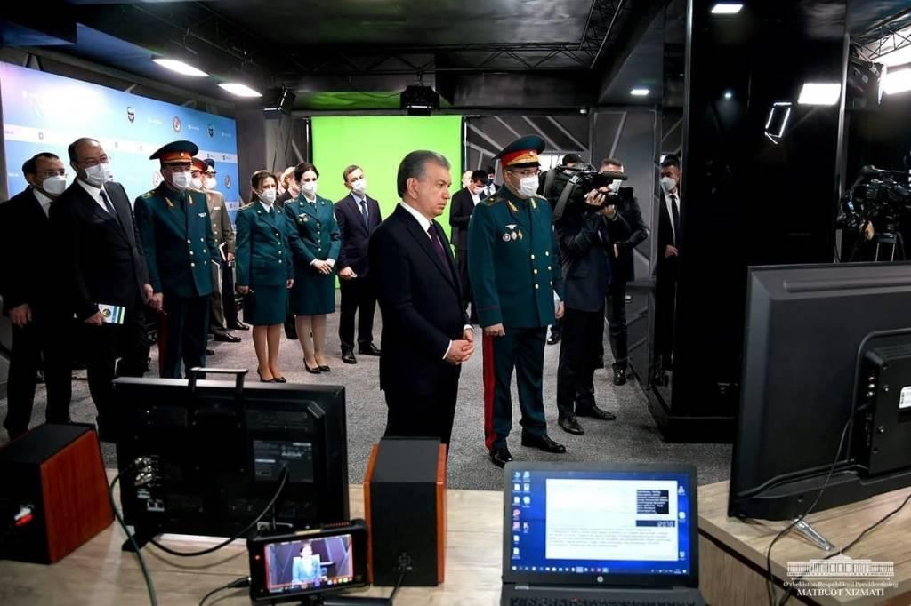 Президент ички ишлар бош бошқармаси фаолияти билан танишди