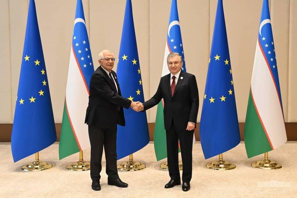 O'zbekiston Prezidenti Yevropa Ittifoqining tashqi ishlar va xavfsizlik siyosati bo'yicha Oliy vakilini qabul qildi