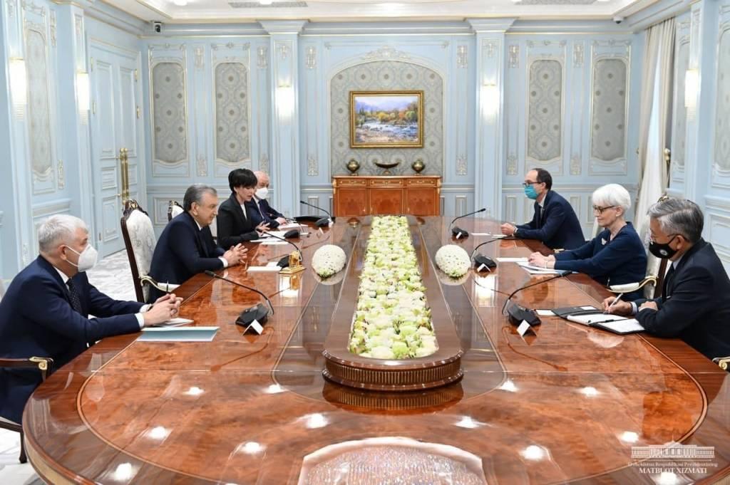 O'zbekiston Prezidenti AQSH delegatsiyasini qabul qildi